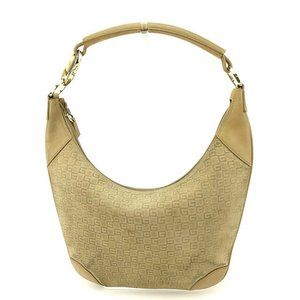 Gucci Shoulder bag G logos Beige Gold Woman Authentic Used